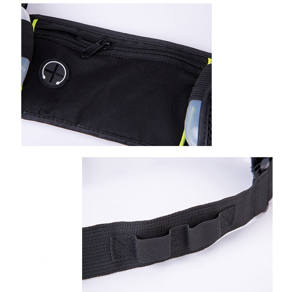 Dual Water Bottle Waist Bag