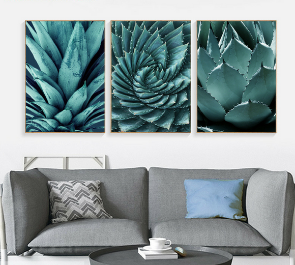 Green Leaves - Wall Art