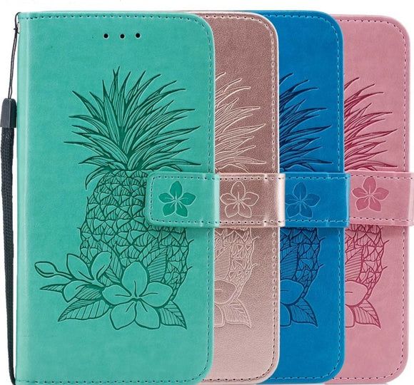 Embossed Pineapple Wallet Shell