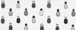 Golden Pineapple Decals | Interiors Decoration