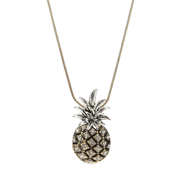 Vintage Pineapple Necklace