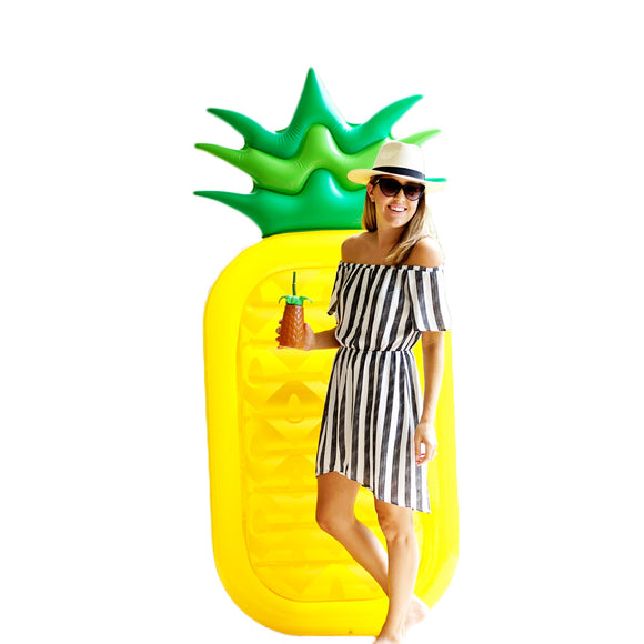 Pineapple giant inflatable pool float
