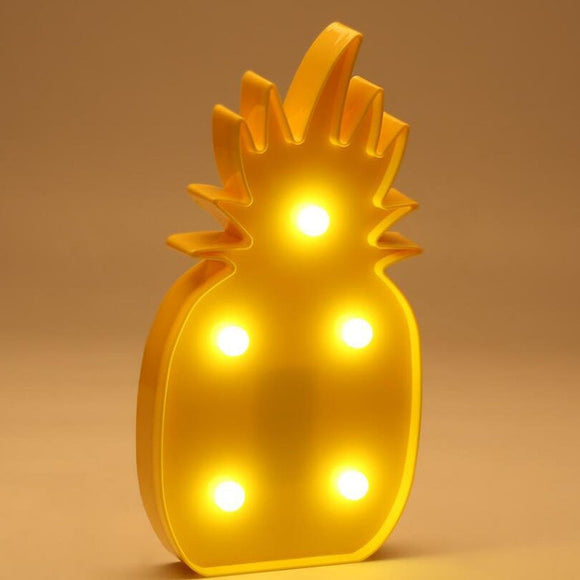 Pineapple Led Night Lights | Pineapple Lamp