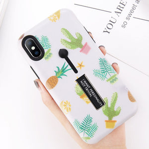 Kawaii Pineapple Phone Case for iPhone