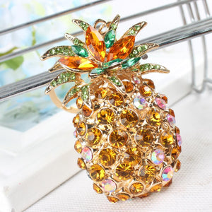 Pineapple Crystal Dreams Key-ring