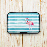 buy-aluminium-flamingo-id-card-holder