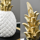 White Pineapple Interior Decoration | Nordic Style Home Accessories | Homeware