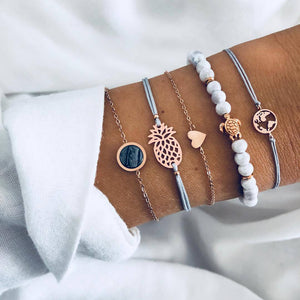 WanderLove Bracelet | Five Pieces Set