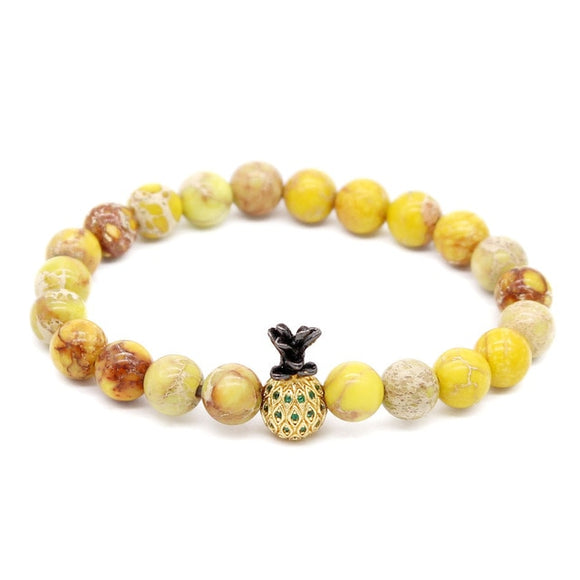 Yellow Sand | Natural Stones Bracelet