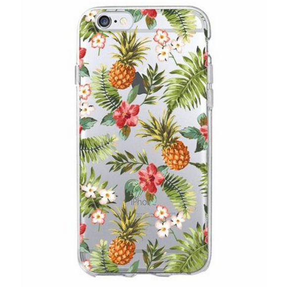 Pineapple dream Soft Phone Case for iPhone and Samsung