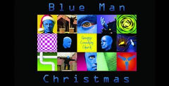 Blue Man Week 3 - Blue Christmas