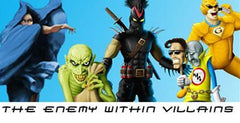 The Enemy Within Villain Trading Cards
