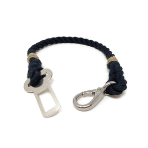 Dog Seat Belt Tether - Black | Mariner Series