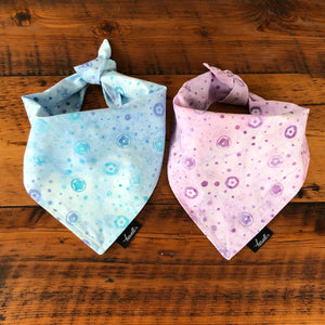 Dog Bandana - Lavender Watercolor Floral