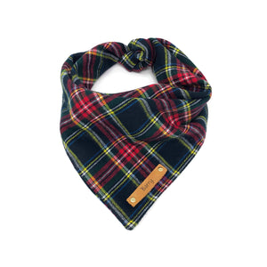 Dog Bandana - Winter Plaid Flannel
