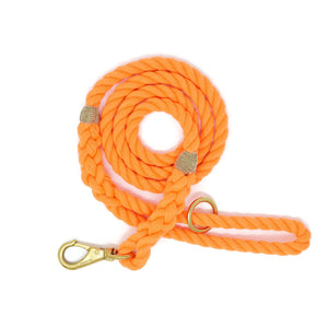 Rope Dog Leash - Orange | Mariner Series
