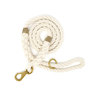 Rope Dog Leash - Off White | Mariner Series