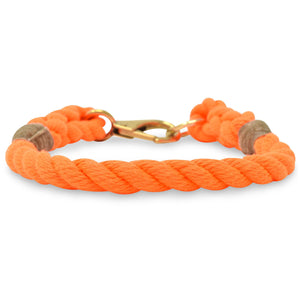 Rope Dog Collar - Orange | Mariner Series