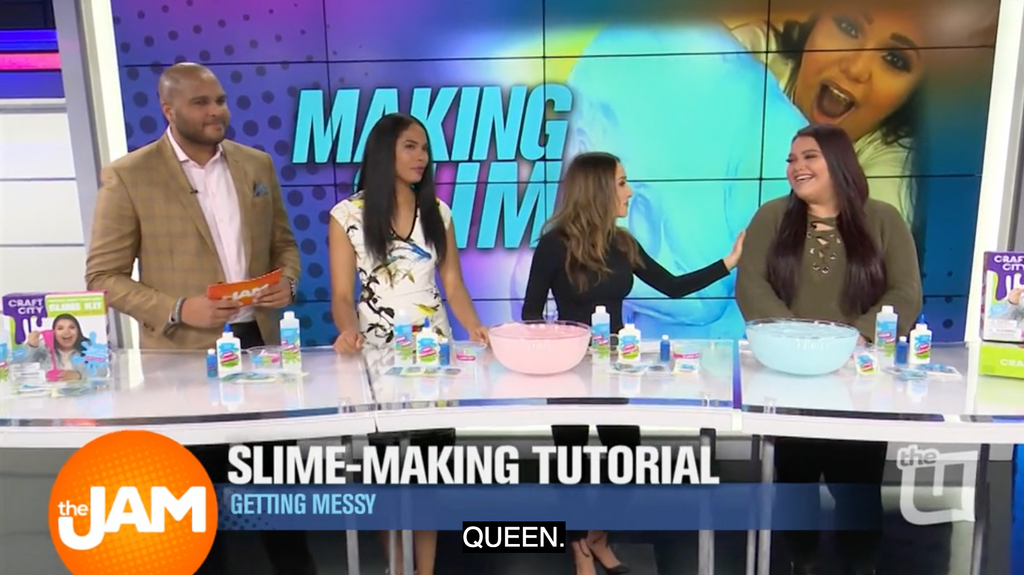 Karina Making Slime in Less Than 5 Minutes!