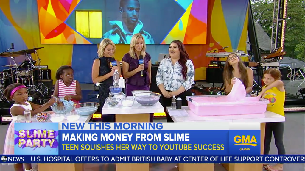 Karina on Good Morning America