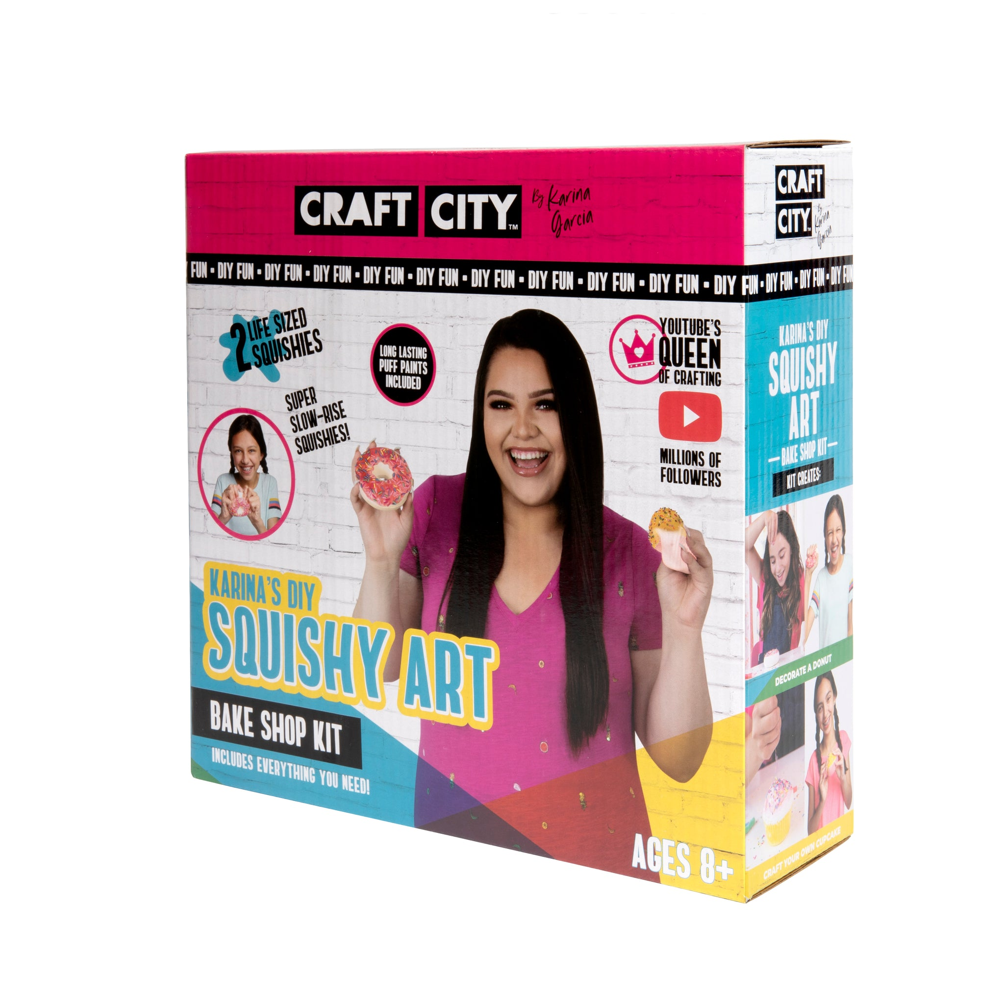 Squishies Slow Rising with Puffy Paint DIY Decorating Kit Squishy Art Kit