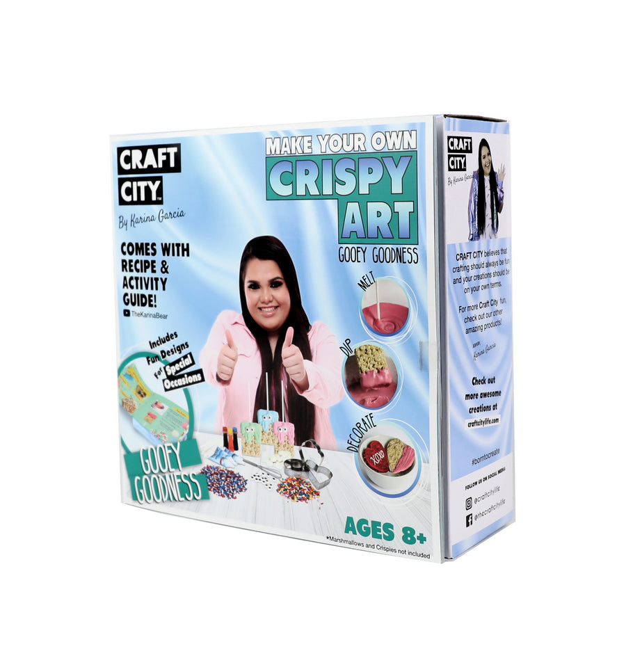 MAKE YOUR OWN CRISPY ART