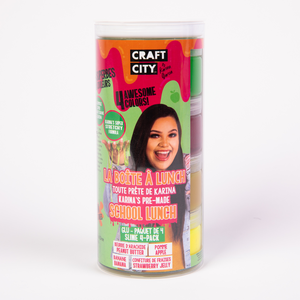 Craft City by Karina Garcia School Lunch Slime 4-pack