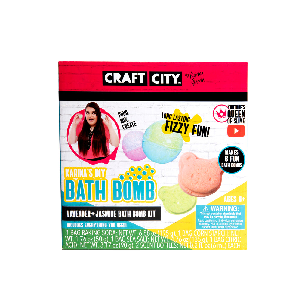 THE ORIGINAL BATH BOMB KIT