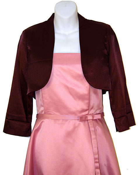 Main image of Satin Bolero Jacket