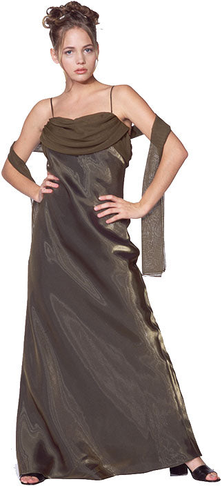 Main image of Valance Style Flared Long Formal Dress