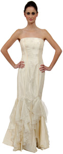 Main image of Strapless Beaded Mermaid Style Formal Wedding Dress