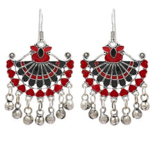 Load image into Gallery viewer, Multi Color Afghani Earrings
