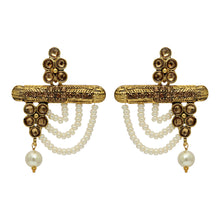Load image into Gallery viewer, Gold Color Antique Statement Earrings
