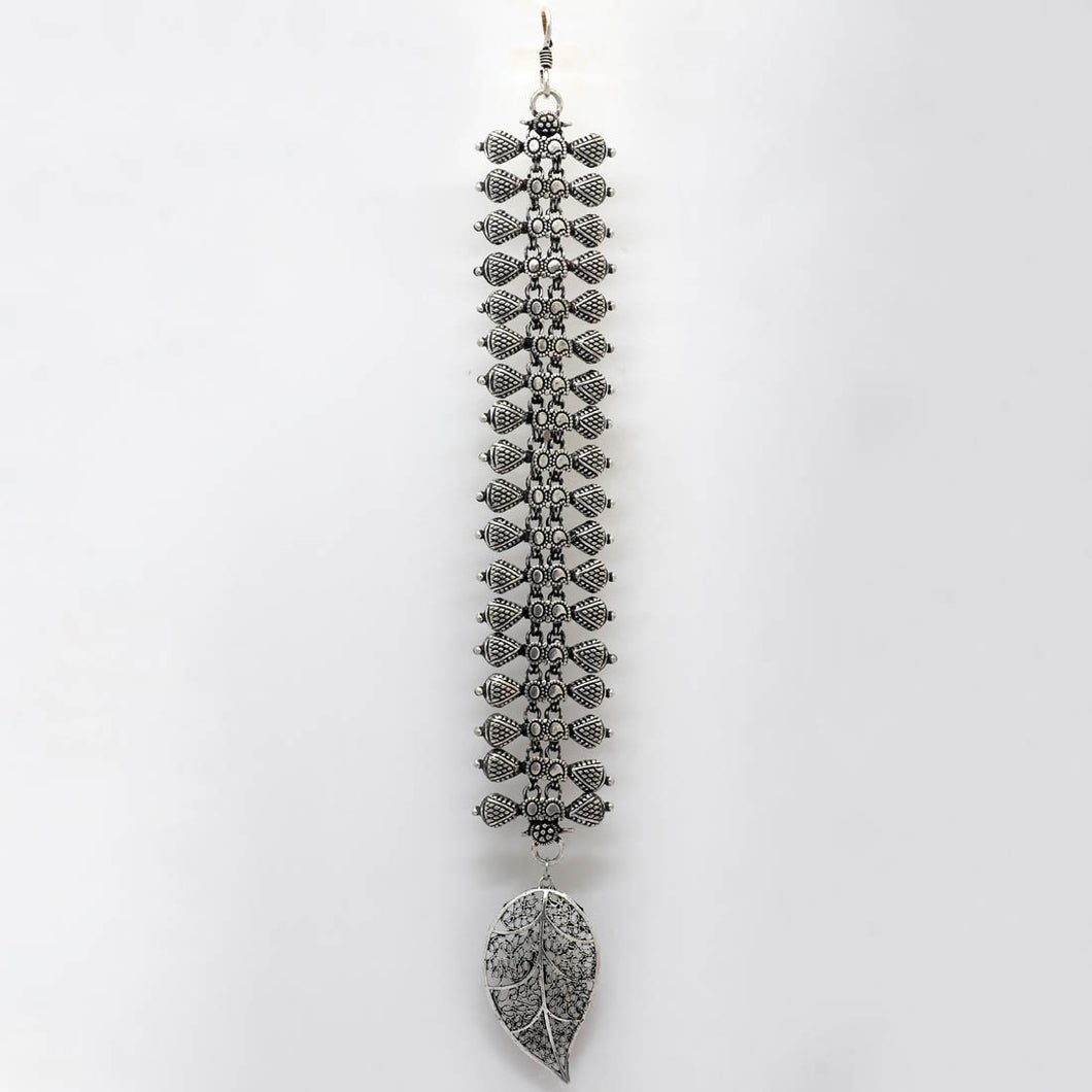 Special Silver Color Oxidised Maang Tikka