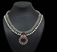 Load image into Gallery viewer, Multi Color Kolhapuri Necklace