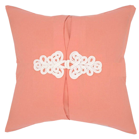 Coral Knot Pillow