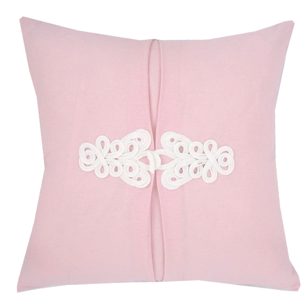 Cherry Blossom Pink Knot Pillow