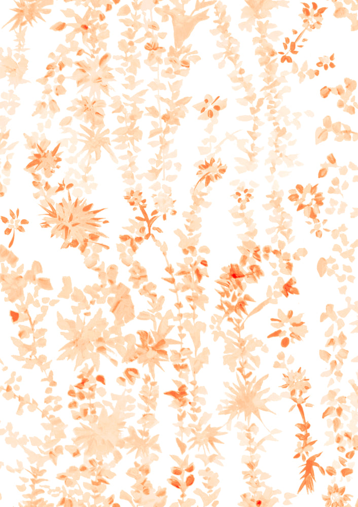 """Aster"" in Orange Fabric for Lo Home x Junior Sandler"