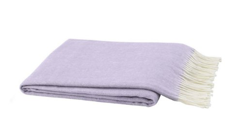 Lilac Throw Blanket - Lo Home