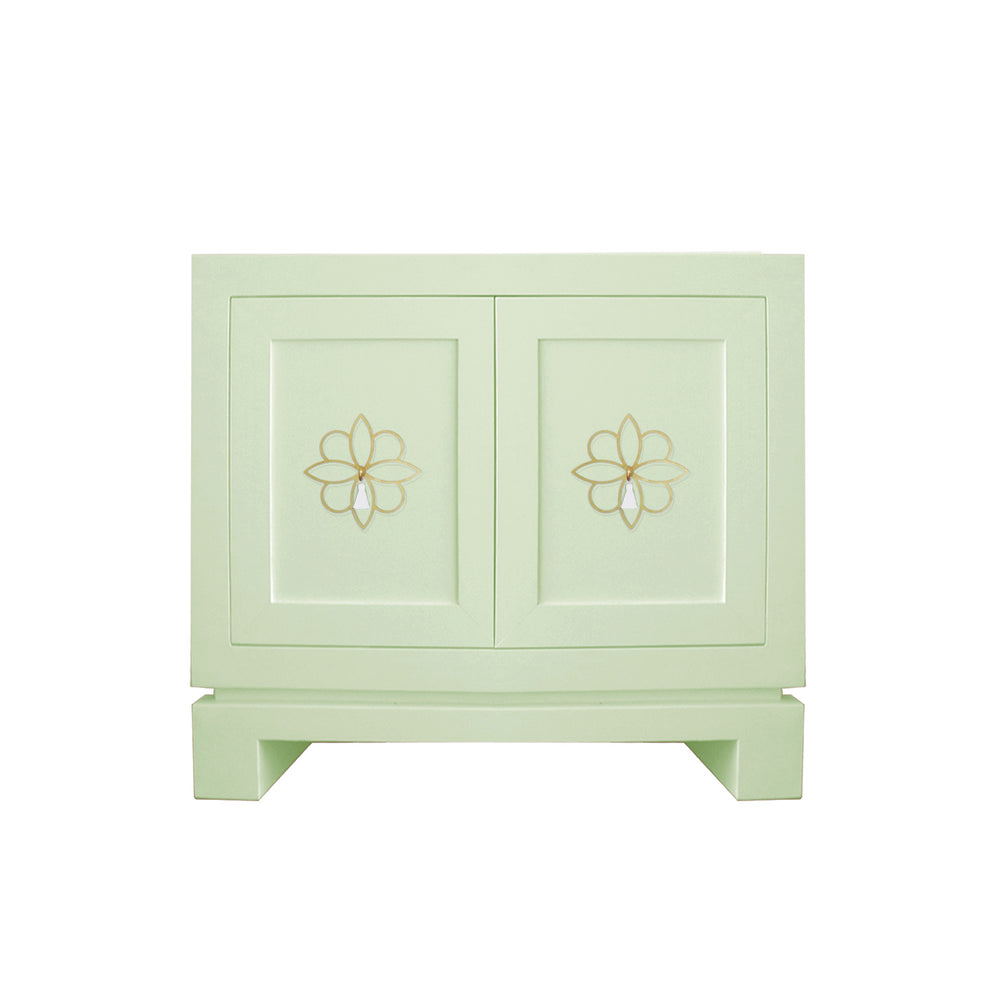 Hayes Small Cabinet with Krysanthe Tassel Hardware