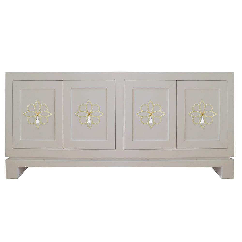 Hayes Large Cabinet with Krysanthe Tassel Hardware