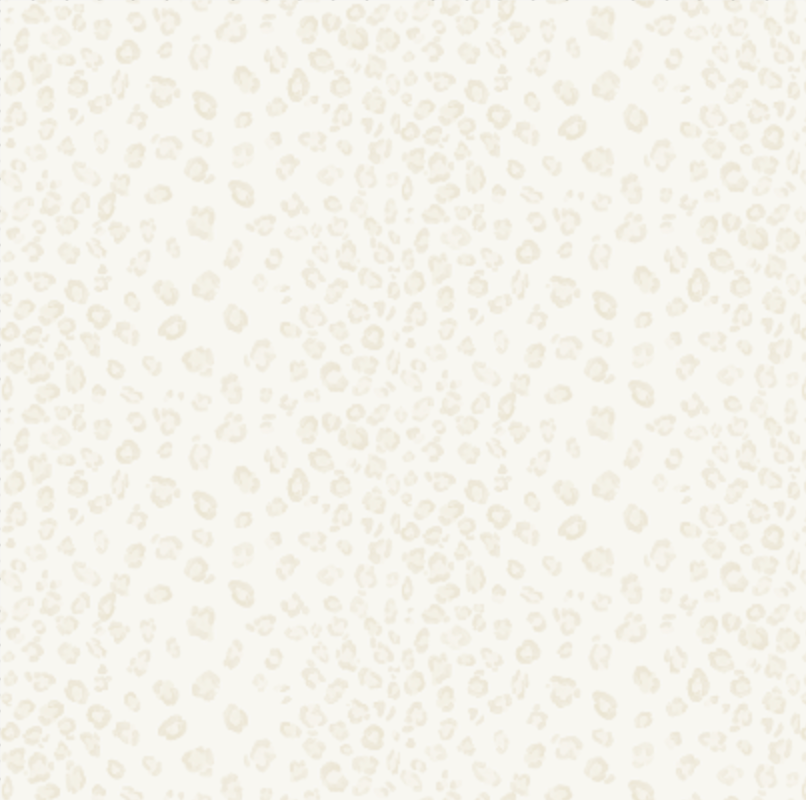 Light Leopard Wallpaper in Beige