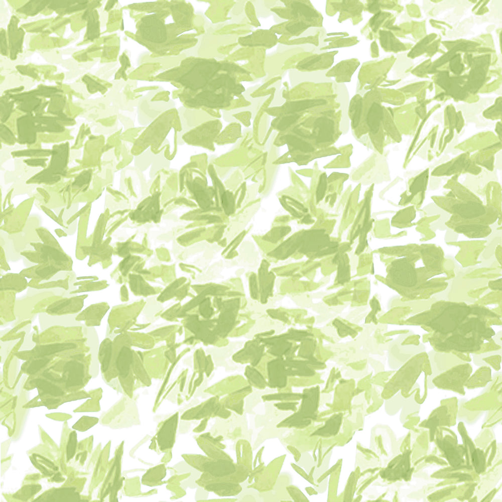 """Floralie"" by Lo Home x Taelor Fisher Wallpaper in Spring Green"