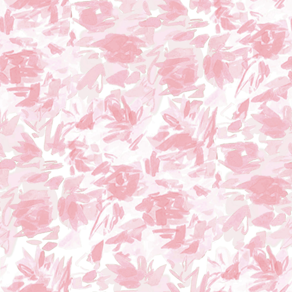 """Floralie"" by Lo Home x Taelor Fisher Fabric in Pink"