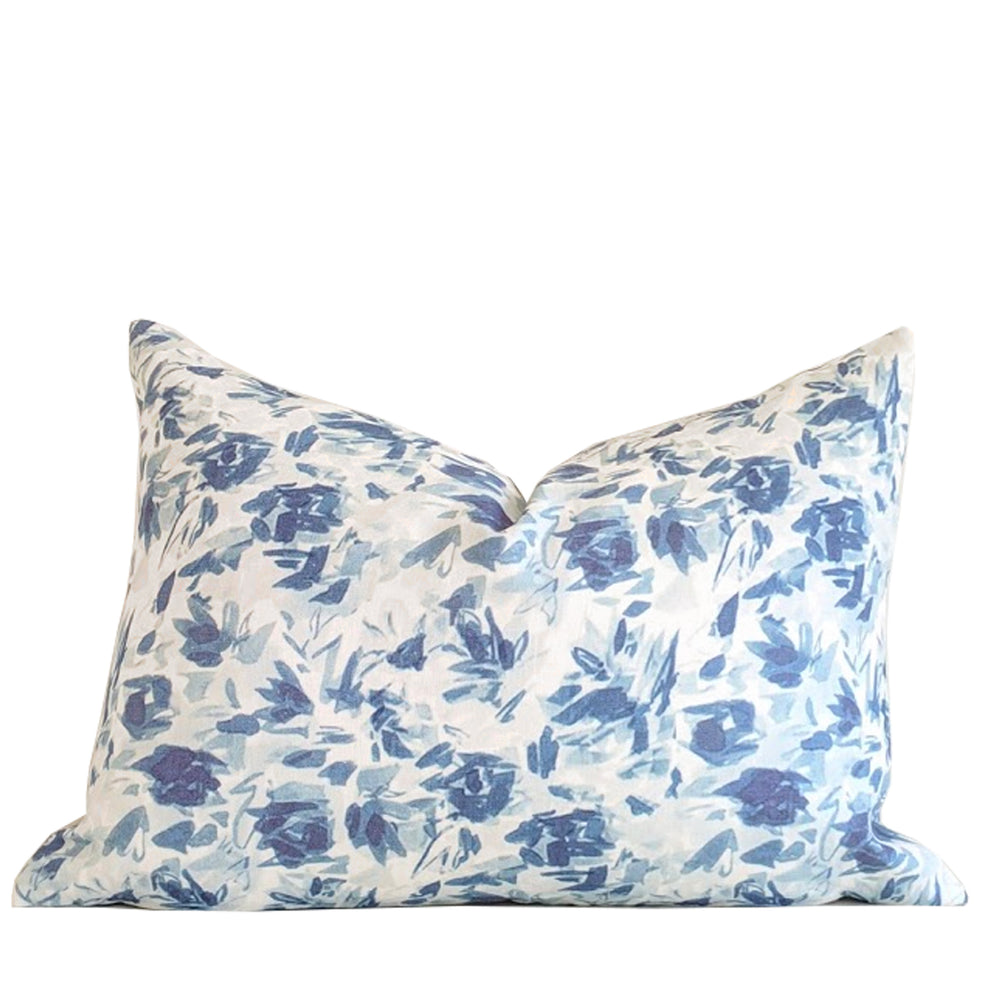 """Floralie"" by Lo Home x Taelor Fisher in Blue"