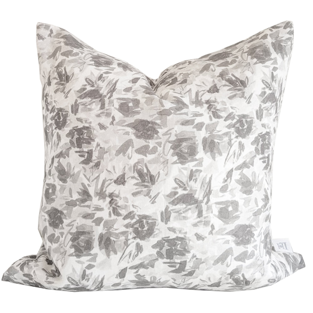 """Floralie"" by Lo Home x Taelor Fisher in Gray"