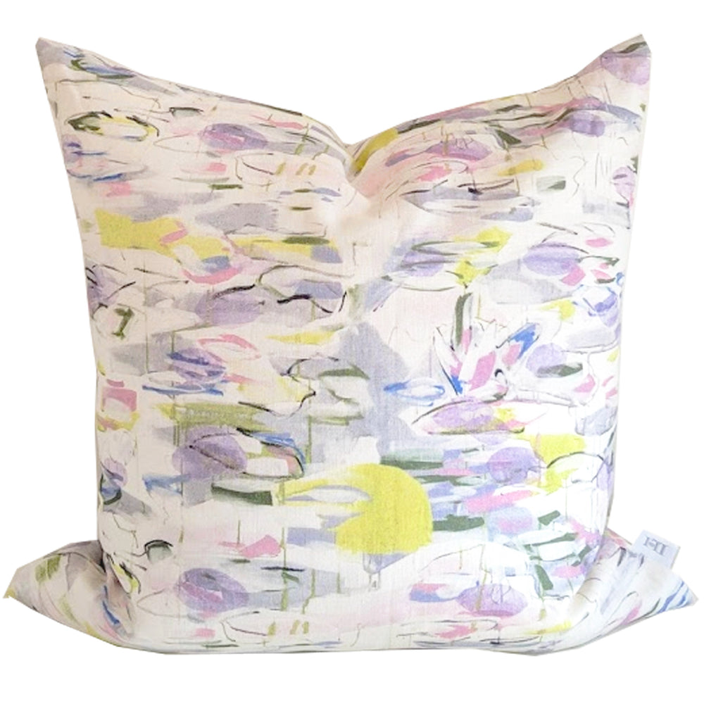 """Water Lilies"" Pillow by Lo Home x Taelor Fisher"