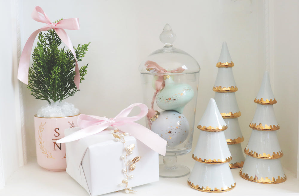 Shimmering Stars Ornament Collection