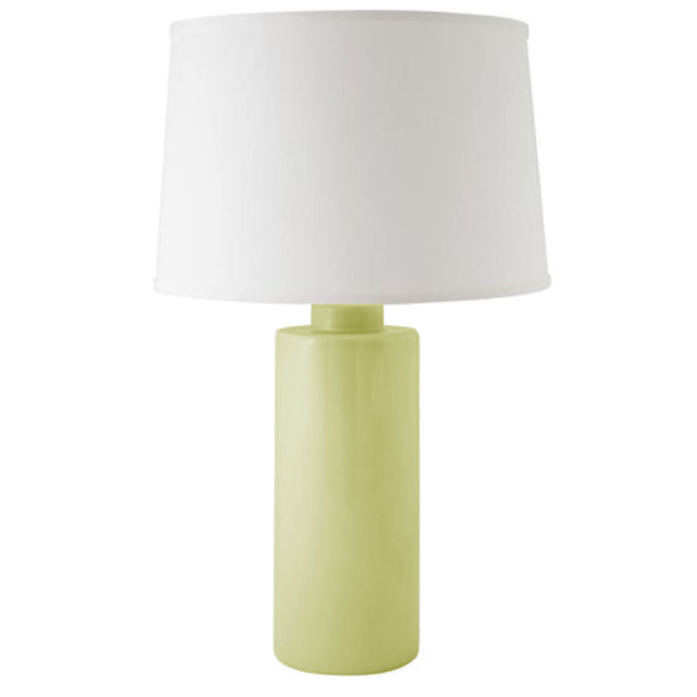 Celery Green Solid Column Lamp