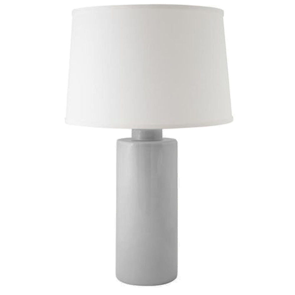 Light Gray Solid Column Lamp